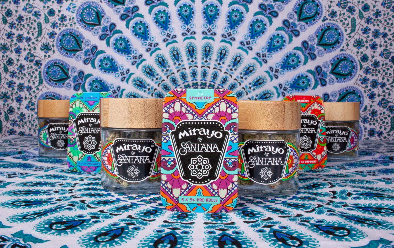 Carlos Santana Launches Cannabis Brand